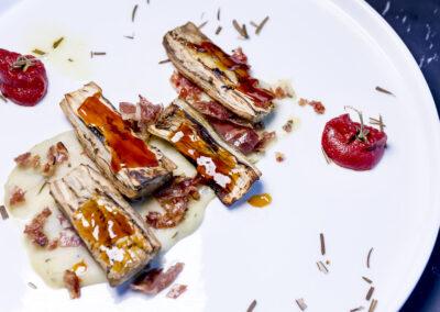Sensi Restaurant Bari_melanzana caramellata